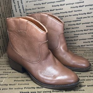 Kenneth Cole Reaction Brown Leather Women's Boots